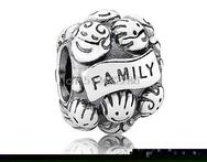 Fashion Custom Fine Family Member Together 925 Sterling Silver European Bead Charm For DIY Snake Bracelet Bangle Brand Jewelry - AliExpress