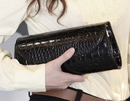 women handbag clutch crocodile pattern chain envelope clutch tassel bag women messenger bags free shipping - AliExpress