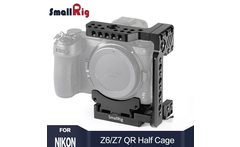 SmallRig Z7 Camera Cage Quick Release Half Cage for Nikon Z6 and Nikon Z7 Camera With Manfrotto quick release Plate 2262 - AliExpress