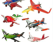 6pcs set pixar planes dusty planes 2 ishani skipper Ripslinger airplane plane model gifts doll classic toys for children W121 - AliExpress