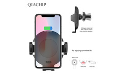 C11 Car Wireless Charger Auto Infrared Sensor For iPhone X XS For Samsung Note 9 Automatic Wireless Charger Car Phone Air Vent - AliExpress