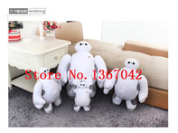 18cm Baymax Robot Big Hero 6 Cartoon Movie Plush Dolls Toy Baymax Robot Stuffed Toys Free Shipping - AliExpress