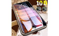 10D Full Cover Protection Glass on the For iPhone 7 Glass iPhone XR XS Max Tempered Glass For iPhone X 8 6 Plus Screen Protector - AliExpress