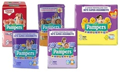 Fino a 168 pannolini Pampers Progressi in varie misure e Easy Up Junior - Groupon