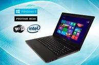 Notebook Positivo BGH con Windows 8 y pantalla led 14 HD envio gratis a todo el pais