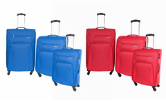 Set de 3 maletas american tourister south beach en color a eleccion - Groupon