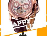 AAA rose gold seagull chronograph wristwatch Automatic movement Men s Watch - AliExpress