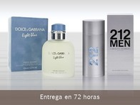 Carolina Herrera 212 Men y Dolce & Gabbana Light Blue Men - LetsBonus