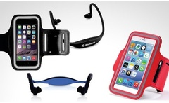 Kit de funda de gimnasio diadema Bluetooth para iPhone en color a eleccion con envio - Groupon