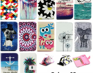 Cute Cartoon Owl Leather For Samsung S5 Flip Cover Samsung Galaxy S5 Case Wallet SV I9600 G900 Original Phone Accessories - AliExpress