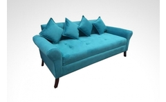 Sofa de 3 cuerpos modelo lua en color a eleccion - Groupon