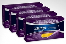 $4.990 en vez de $13.990 por 32 tampones Always® Platinum regular o ultra absorbente. Incluye despacho - Groupon