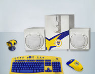 Kit de Boca Parlantes Buffer Webcam Mouse Teclado