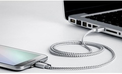 Cable USB tipo cordon para Samsung y smartphones en color a eleccion Incluye envio - Groupon
