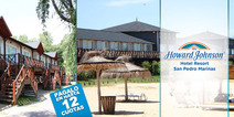San Pedro 2 noches p 2 1 2 pension en Howard Johnson Hotel Marinas desde 1600