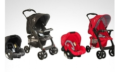 Coche travel system jazz de bebesit en color a eleccion - Groupon