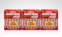 $9.990 en vez de $18.990 por pack de 30 pilas Fusion Advance marca Rayovac. Incluye despacho - Groupon
