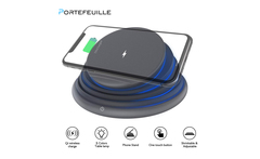 Portefeuille Foldable LED Mood Night Light Wireless Charger Stand holder for iphone XS MAX XR 8 plus samsung galaxy note 9 s9 s8 - AliExpress