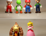 Rare Free Shipping Plastic Super Mario Bros PVC Action figures Toys Dolls Retail - AliExpress