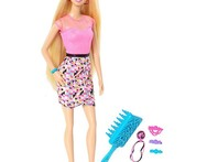 Rainbow Hair Barbie Doll - Snapdeal