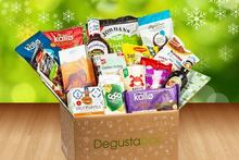1mth Degustabox Monthly Food Hamper 4 99 instead of 11 from Degustabox for a one month food hamper try something new and save 55 - wowcher