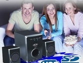 34 de Descuento Home Theater 2 1 900 Watts auxiliar Usb Sd la mejor calidad de sonido imperdible