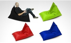 Silla puff Edge en lona impermeable en tamano y color a eleccion Incluye envio - Groupon