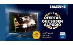Tv Samsung 32 LED 32JH4005 - woOw