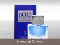 Blue Seduction Men de Antonio Banderas. Intrigante frescura - LetsBonus