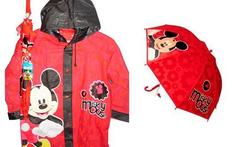 Piloto + Paraguas Infantil de Mickey o Minnie Original - Big Deal Infobae