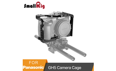 SmallRig For Panasonic Lumix GH5 GH5S Camera Cage With 1 4 3 8 Threads Holes Cold Shoe Plate Mount NATO Rail Kit 2049 - AliExpress