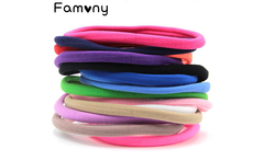 6 Pcs lot Spandex Nylon Headband Solid Elastic Fine Hairband Kid DIY Skinny Headdress For Infant Toddlers Hair Accessories - AliExpress