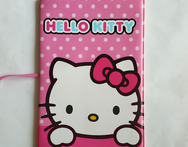 14 9 6CM PVC Leather Credit Card Holder Cartoon Hello Kitty ID Card Bag Business Porte Carte Simple Travel 3D Passport Cover - AliExpress
