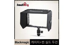 SmallRig 7 Monitor Cage Sun Shield hood for Blackmagic Design Video Assist Monitor With HDMI Clamp Ball Head Kits 1988 - AliExpress