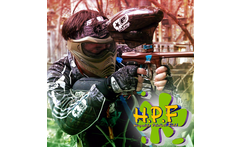 Accion y diversion Paga RD 445 en vez de RD 900 por Juego de Paintball Marcadora Tanque Co2 100 bolitas Chaleco en Hispaniola Paintball Field - Viagrupo