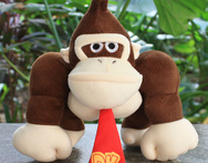 Super Mario Bros 8 26cm Donkey Kong Soft Stuffed Plush Doll Toy Xmas Gift - AliExpress