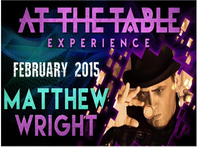 2015 At the Table Live Lecture starring Matthew Wright - AliExpress