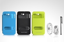 $9.990 en vez de $17.990 por kit flip cover view para Galaxy Note en color a elección. Incluye despacho - Groupon