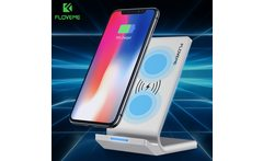 FLOVEME Universal Qi Fast Wireless Charger For iPhone X 10 8 Plus Charger Wireless Charging For Samsung Galaxy S8 Note 8 For LG - AliExpress