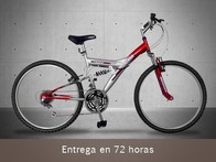 Mountainbike Doble Suspensión. Desafío outdoor - LetsBonus
