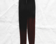 Black Burgundy Ombre Two Tone Color Remy Tape Hair Extension Dip Dye Sticker Human Hair - AliExpress