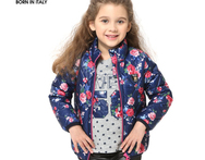 TOK TIC print flower kid winter down coats winter girls jacket warm outerwear coat children clothing autumn cotton Parkas cothes - AliExpress