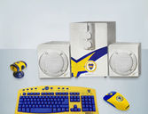 Kit de Boca: ¡Parlantes + Buffer + Webcam + Mouse + Teclado! - Cuponica