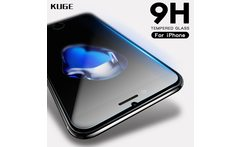 KUGE 9H 2 5D Tempered Glass For iPhone 6 6s 7 8 plus 4s 5 5s se X glass iphone X 6 6s 7 8 Plus screen protector Protective glass - AliExpress