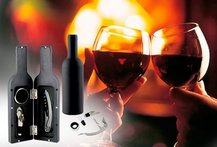 Set de Vino Bottle + Accesorios 50% - Cuponatic
