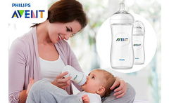 Outlet Set 2 Mamaderas Avent Natural 330ml - Cuponatic