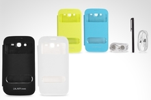 $9.990 en vez de $17.990 por kit flip cover view 4 en 1 para Galaxy Grand en color a elección. Incluye despacho - Groupon