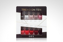$11.990 en vez de $17.720 por set de 10 mini esmaltes Trend on Ten by Opi. Incluye despacho - Groupon