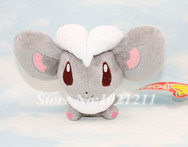 Free Shipping Nintendo Pokemon Plush Character Toy Cinccino Game Soft Stuffed Animal Doll New - AliExpress