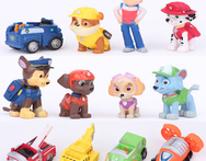 12 pcs set vinyl paw patrol toys anime action figure patrulla canina toys kids toys cartoon toy collection children figures 2015 - AliExpress